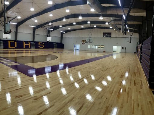 Doyle High Gym Renovation